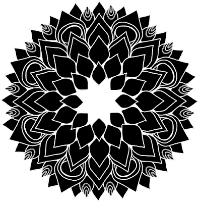 Free Clipart Mandala Series RT004
