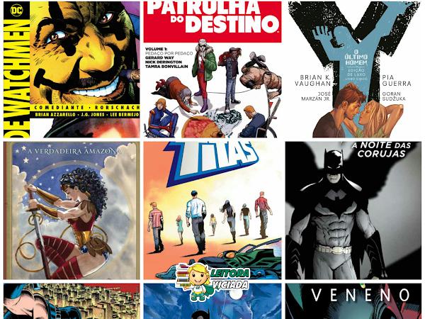 Lançamentos: Panini Comics - DC Comics (incluindo Vertigo,Young Animal e Hanna-Barbera)