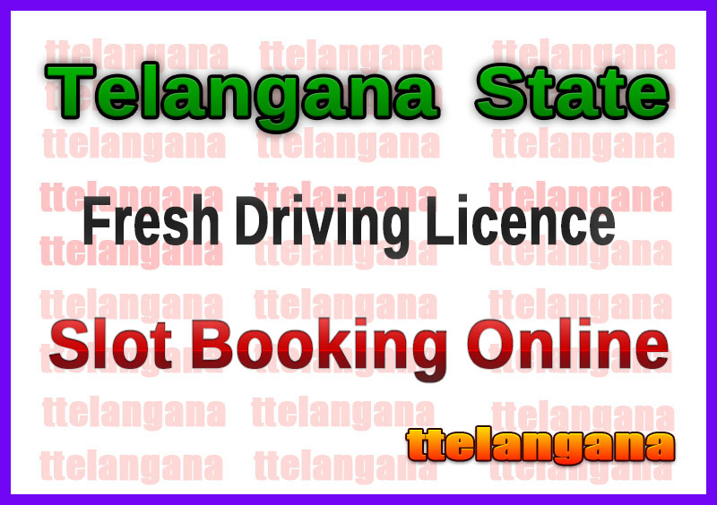 TS RTA Driving New Learner Licence in place of expired Learner Licence Online