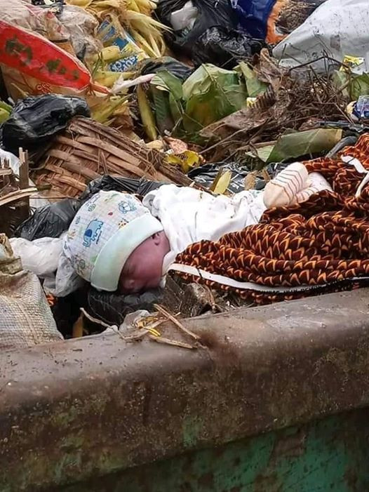 Newborn baby found dumped at refuse site in Owerri, presumed dead
