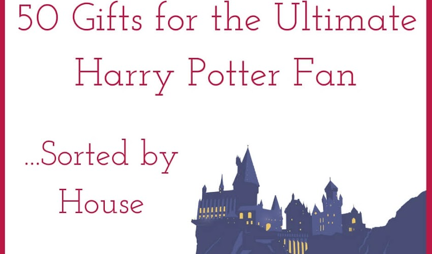 50 Gifts for the Ultimate Harry Potter Fan... Divided by House