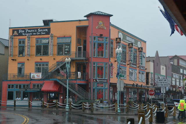 Ketchikan Alaska Fish Pirate Saloon