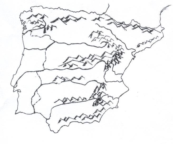 Blog de María Teresa: El relieve de España