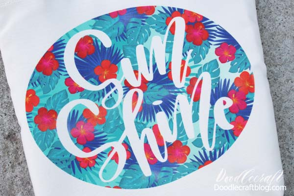 How to use Cricut Infusible Ink Transfers on Tote Bag DIY