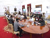 Presiden Jokowi : Siapkan Terobosan Baru untuk Percepat Penanganan Pandemi