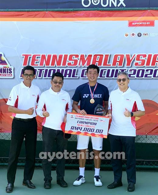 Ganyang Petenis Malaysia, David Juara di Kuala Lumpur