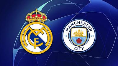 التشكيل الرسمي للفريقين لمواجهة مانشستر سيتي ضد ريال مدريد