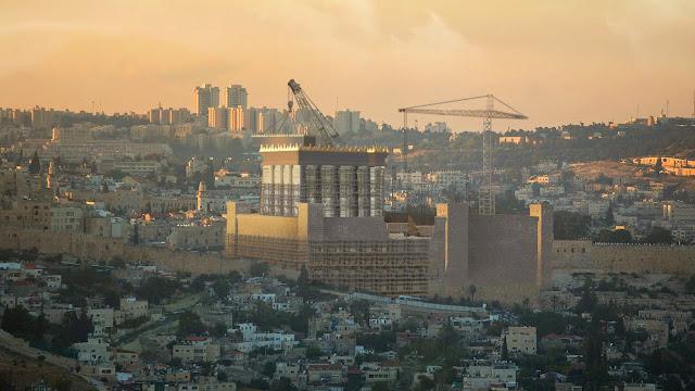 construction du troisieme temple