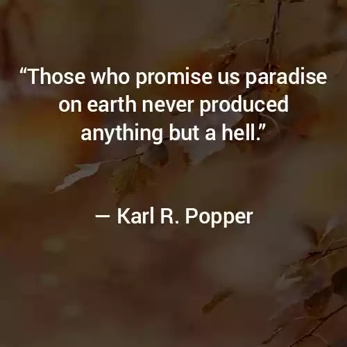 Karl R. Popper Quotes
