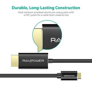 RAVPower RP-CB006 Kabel HDMI