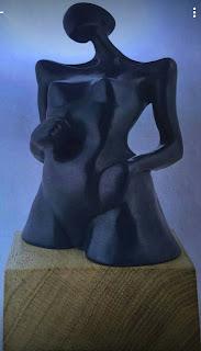 Escultura de Bárbara Cevasco.