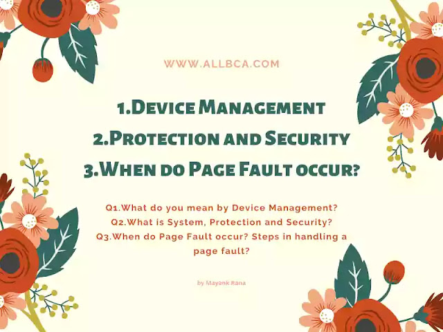Device-Management-&-Protection-Security-&-Page-Fault