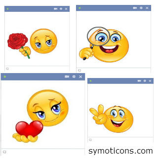 New Facebook Smileys ~ Symoticons - New Facebook Chat ...