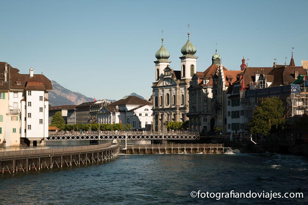 Jesuitenkirche o Iglesia de los Jesuitas en Lucerna