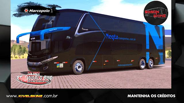 PARADISO G7 1800 DD 6X2 - VIAÇÃO NEQTA TRANSPORTES
