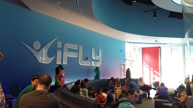Curiosos no I-Fly