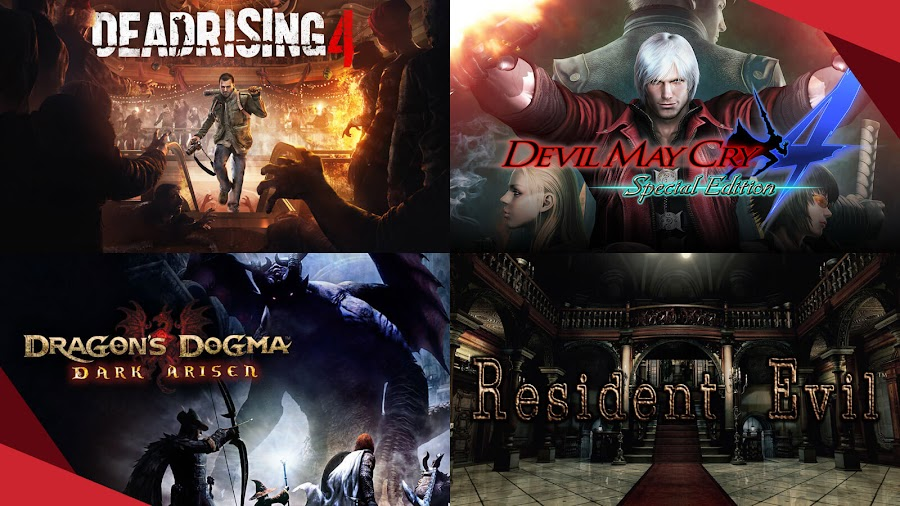 humble capcom mega bundle 2020 dead rising 4 devil may cry 4 dragons dogma dark arisen resident evil hd remaster