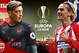 Prediksi Semi Final Liga Europa :  Arsenal vs Atletico Madrid 27 April 2018