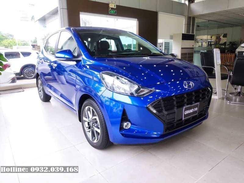 Hyundai i10 Hatchback 2021 thế hệ mới màu màu Xanh dương