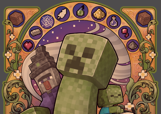MINECRAFT: Creeper Nouveau - Medusa Dollmaker