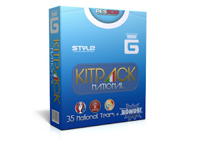 PES 2016 New KitPack National AIO Update v3.7 by G-Style
