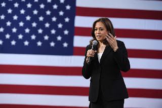 US Senator Kamala Harris demand for sharing Facebook
