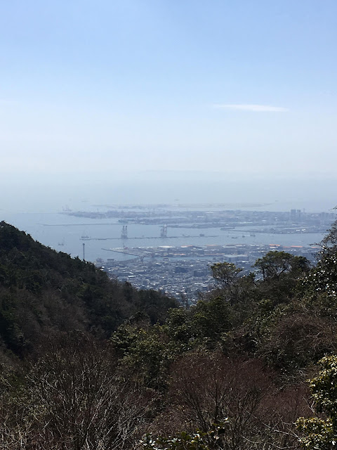Mt. Rokko Mountaintaop View