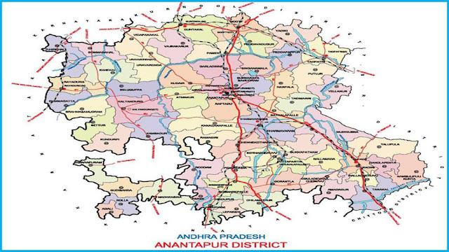 Villages in Andhra Pradesh, Anantapur