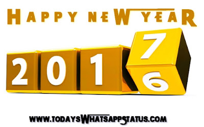 Happy New Year 2017 Status for Whatsapp in English: Whatsapp Status