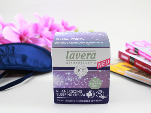 Lavera Naturkosmetik // Re-Energizing Sleeping Cream