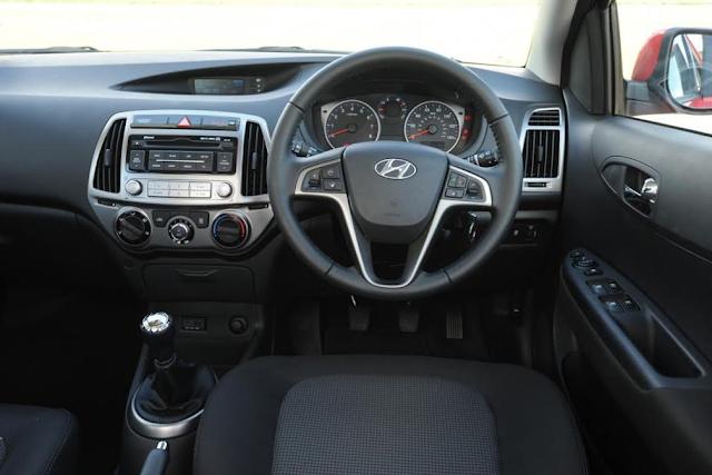 Dashboard Hyundai i20 - 2016