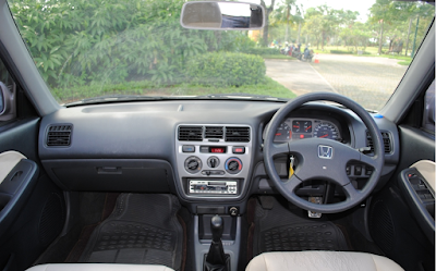Interior Honda City Type Z