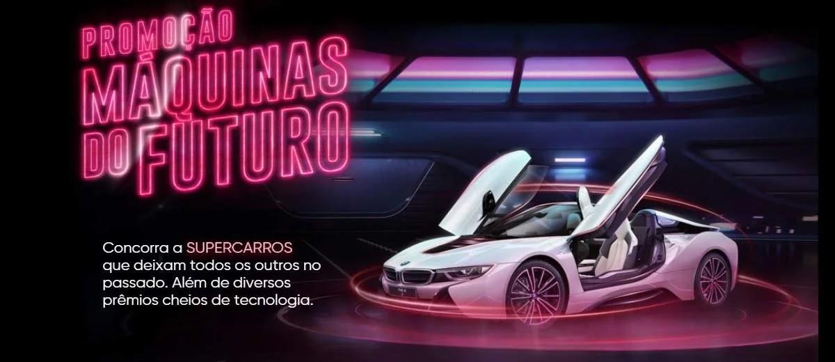 Promoção Máquinas do Futuro Bradesco 2020 - Supercarros e Muitos Prêmios