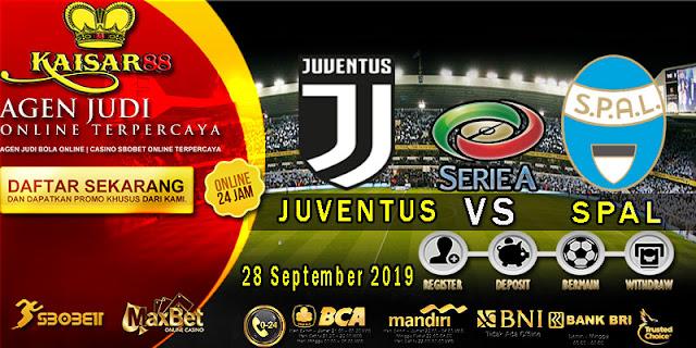 Prediksi Bola Terpercaya Liga Italia Juventus vs SPAL 28 September 2019