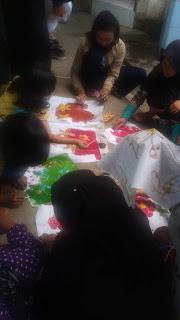 Pencoletan Batik Tulis