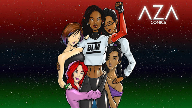 Black-Owned Superhero Brand Offers Hope & Escapism in Times of Pain