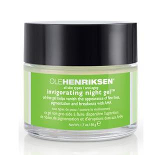 Znalezione obrazy dla zapytania Ole Henriksen Invigorating Night Gel Firming Treatment