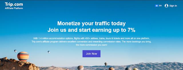 Trip.com Affiliate Program