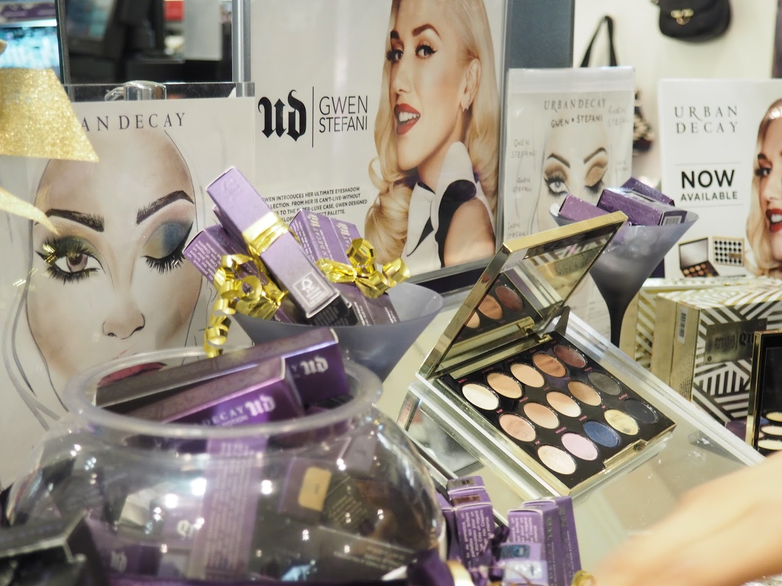 Urban Decay Gwen Stefani Leicester Highcross Shopping