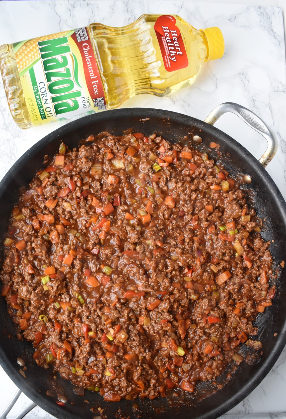 Pan of Asian Sloppy Joes