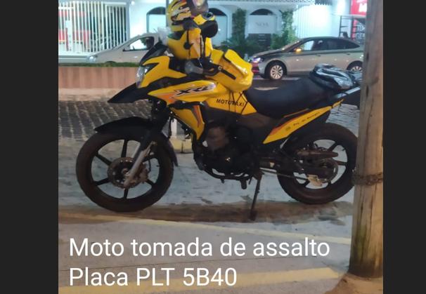 Mototaxista tem sua moto levada de assalto em Porto Seguro