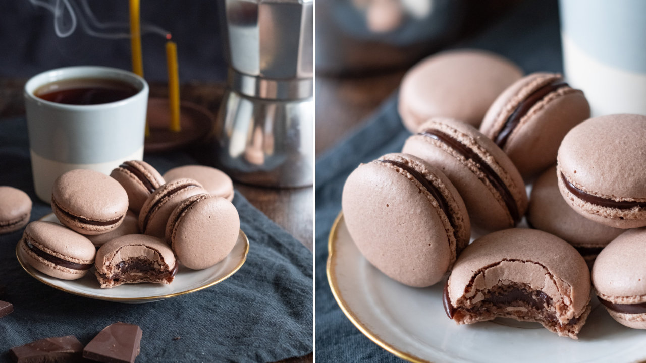 Resepi Dan Cara Buat Macaron Coklat
