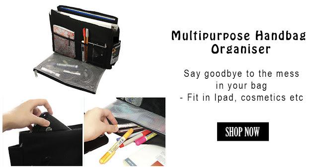 No More Messy Handbags - Multipurpose Handbag Organiser ...