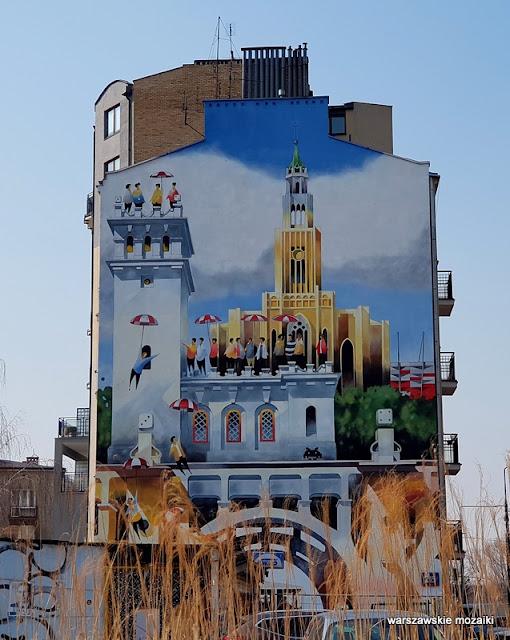 Warszawa Warsaw miasto city streetart street mural murale muralart Grochów Grochowska Praga Południe