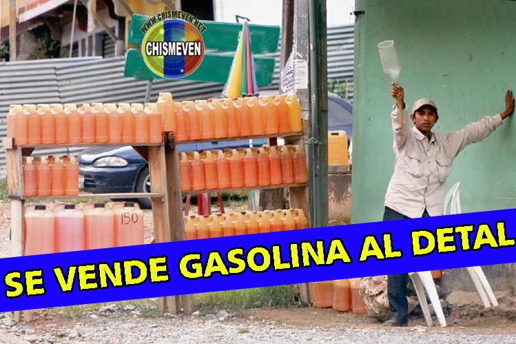 Nuevo empleo para los chaburros : Buhonero de Gasolina