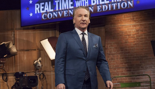 Bill Maher on Trump's Scary RNC Speech: 'He Looked a Lot Like Mussolini'