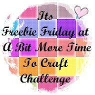 We have Freebie Fridays here