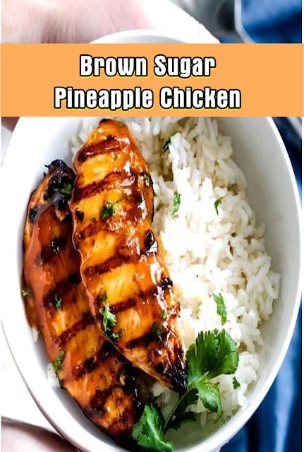 #Brown #Sugar #Pineapple #Chicken