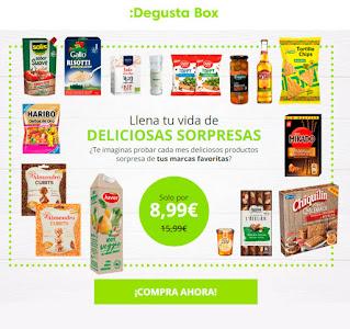 Degustabox de febrero a mitad de precio