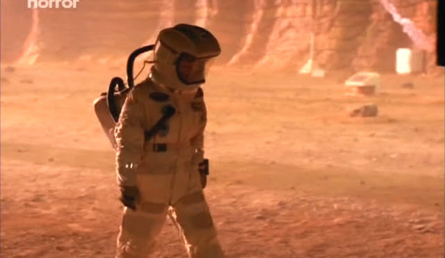 Preparing to leave - Escape from Mars movie image